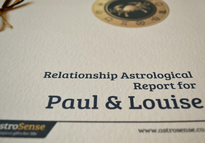 Relationship Astrological Report